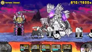 [The Battle Cats] - Kartopia (Insane) - Speed Run