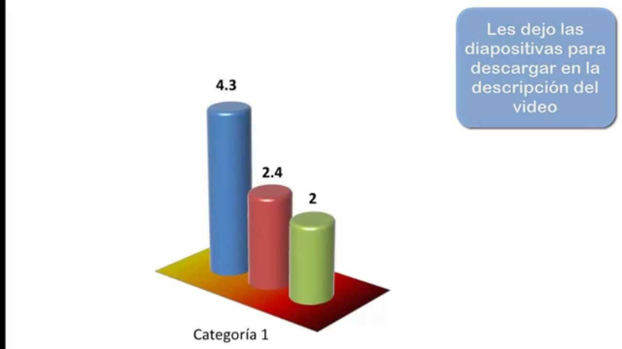 Gr ficos de barras en 3d con power point youtube for Grafica 3d gratis