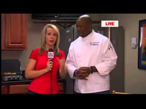 Food Network Star Chef Aaron McCargo Jr. stops by!