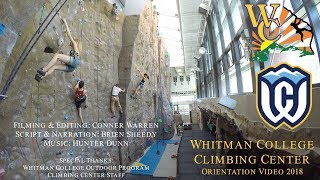 Video - Climbing Center Orientation Video