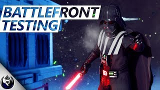 Darth Vader Breathing Feature! (Testing The Battlefront) - Star Wars Battlefront 2 Mythbusters