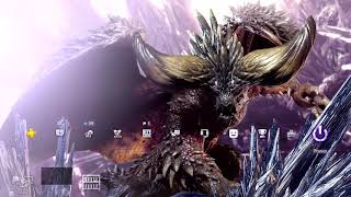 Dynamic Theme Nergigante On Ps4  Monster Hunter World
