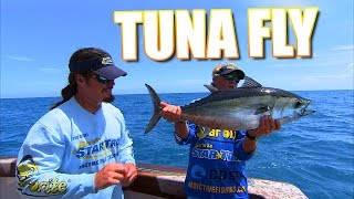 Fly Fishing Blackfin Tuna Behind the Shrimp Boats in Key West Florida
