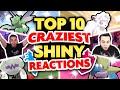 top 10 most epic shiny reactions ever pokemon sword and shield shiny montage