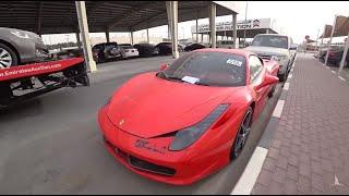Аукцион брошенных авто Dubai