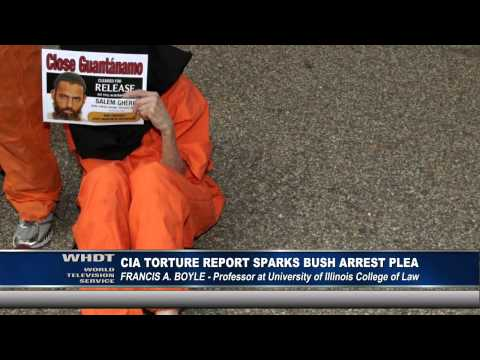 CIA Torture Report Sparks Bush Arrest Plea