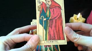Tarot de Marsella. Curso avanzado. IX. El Ermitaño
