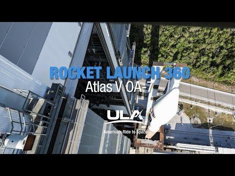 Rocket Launch 360: Atlas V OA-7