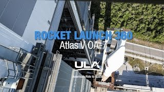 Rocket Launch 360: Atlas V OA-7