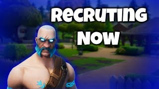 Recruiting Members To Join!     Fortnite Outlaw Clan Montage (XBox,PC)