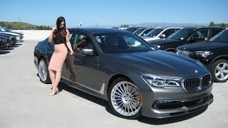 NEW 2017 BMW ALPINA B7 / Exhaust Sound / 0 to 60 MPH in 3.6 sec / BMW Review