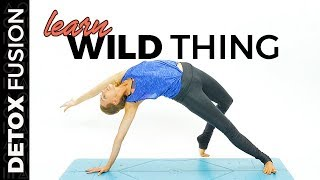 DYF Day 4: Flow into Wild Thing Pose | Heart Opening Vinyasa Flow (30-Min)