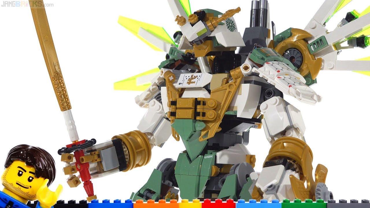Lego Ninjago Lloyd S Titan Mech Review 70676 Youtube