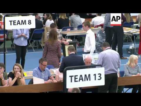 Vote counting begins in Sunderland
