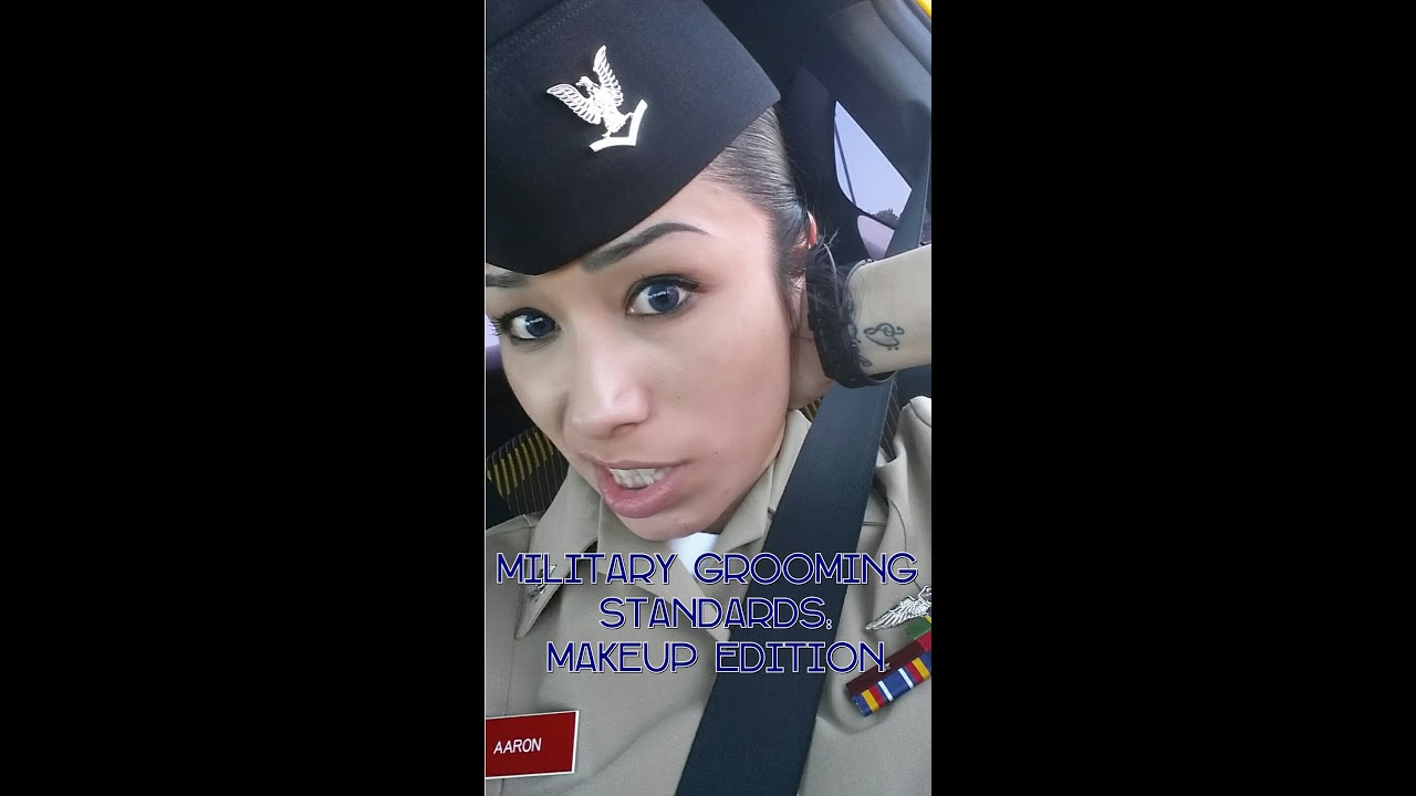 NAVY Female Military Grooming Standards Military Approved Makeup