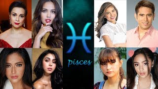PISCES Celebrities in the Philippines