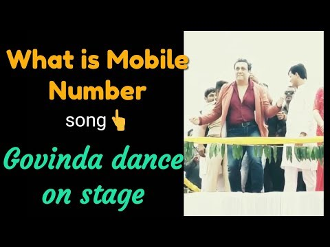 What Is Mobile Number Ll Hindi Bollywood Movie Ll Haseena Maan Jaayegi Ll Govinda, Krishma Kapoor