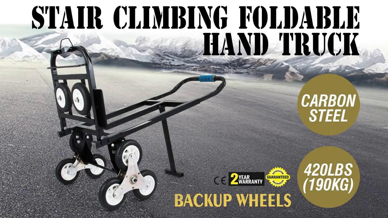 how to set up stair climbing cart