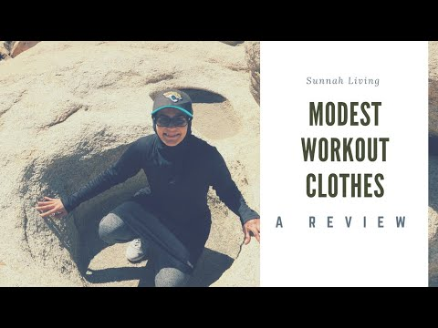 Modest Workout Clothes - A Review
