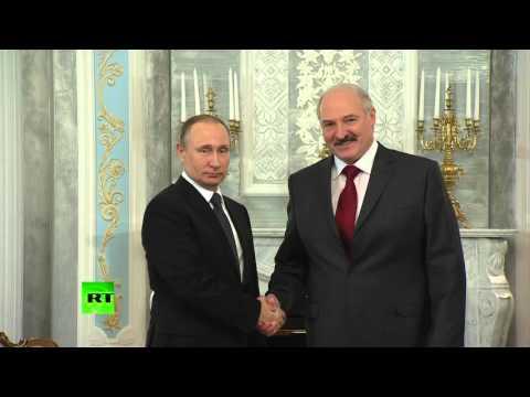 На встрече в Минске Лукашенко по ошибке назвал Путина Дмитрием Анатольевичем