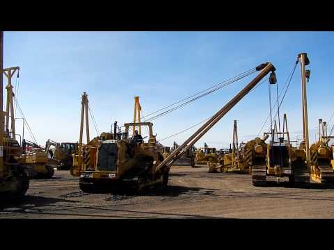 Caterpillar 572R Pipelayer