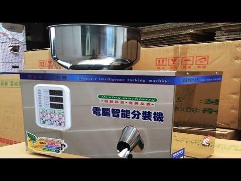 1-50g Powder Herb Tea Powder Articles Weighing Filling Machine Semi Automatic Manual Weigher Filler