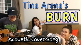 """Tina Arena's """"BURN""""   Acoustic Cover Song"""