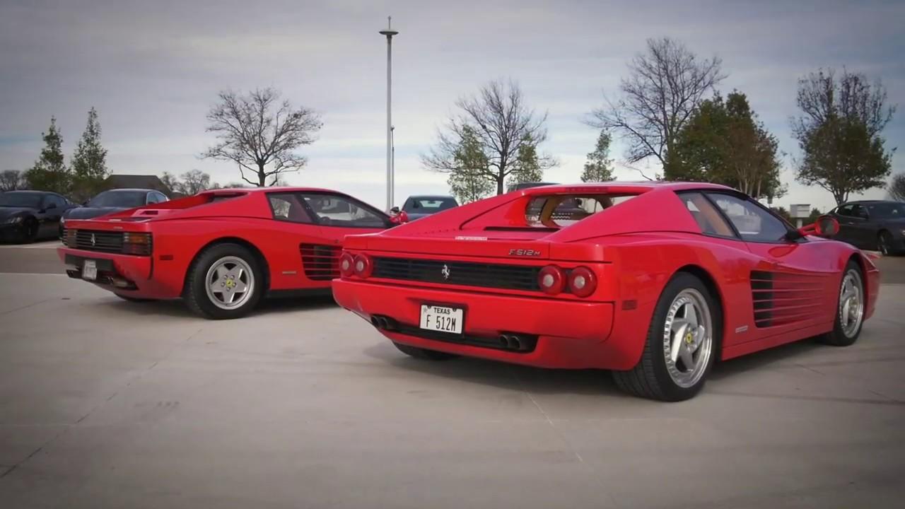 The Ferrari F512m A Testarossa Descendant Youtube