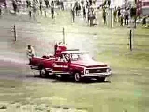 Jim Malloy's Fatal Crash , Indianapolis 500 1972