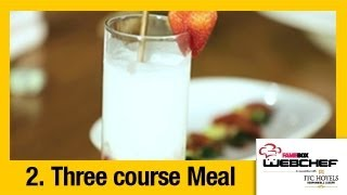 #fame Food - Virgin Strawberry Colada | Drink By Samina Patel | Webchef Finale