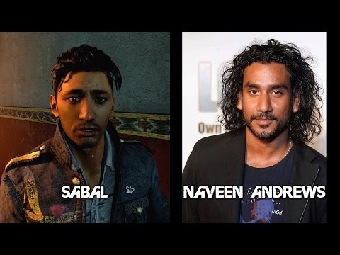 Far Cry 4 - Characters and Voice Actors 1080p 60fps