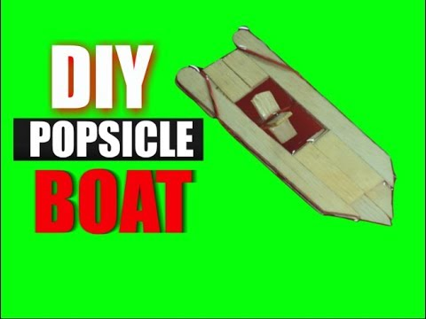 how to make a stick boat