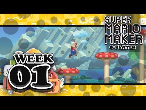 Mario Maker Mondays: Week 01 (Expert Race)