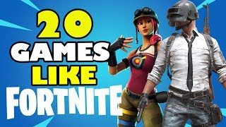 TOP 20 BEST Games Like Fortnite for Android & iOS | Battle Royale Games