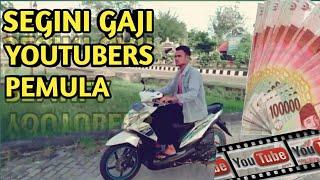 Segini Gaji Akun Youtubers Pemula 2018-Youtubers Aceh Dapat Uang Dari Youtube