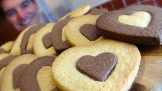 Shortbread Style Cookies: Chocolate & Vanilla treats