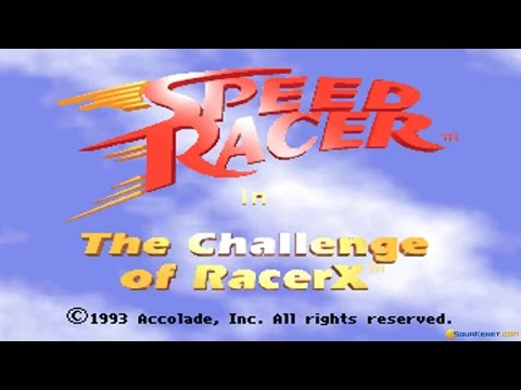 Speed Racer: The Challenge of Racer X gameplay (PC Game, 1992) thumbnail