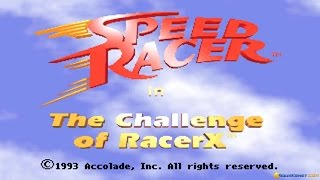 Introduction and gameplay for Speed Racer: The Challenge of Racer X...