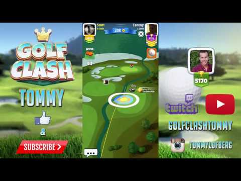 Golf Clash tips, Tour 5 - World Links, Greenoch Point Golf Club Hole 4 - GUIDE/TUTORIAL