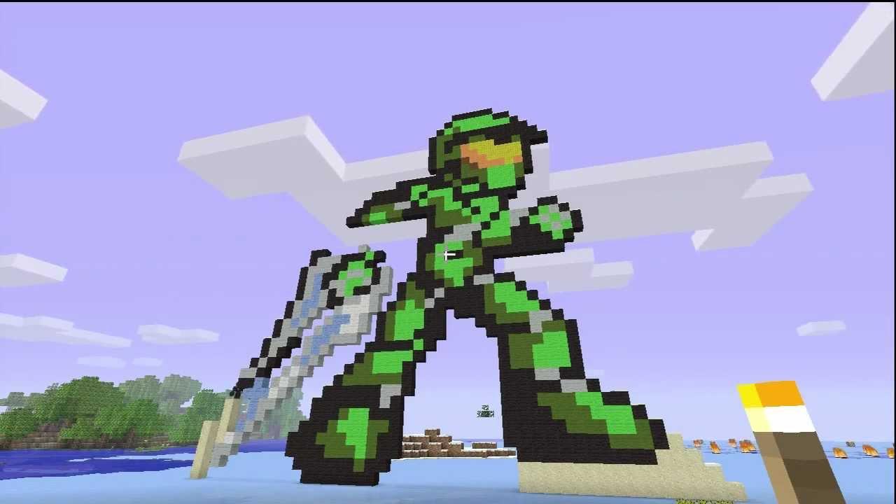 8bit art Minecraft Project