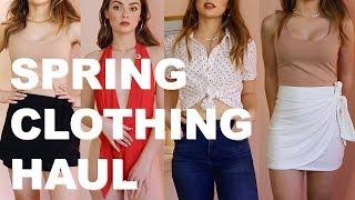 SPRING CLOTHING HAUL... FOREVER21 - EJB