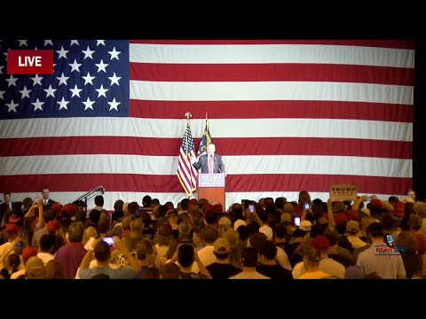 FULL Event: Donald Trump Holds Rally In Fayetteville, NC 8/9/16