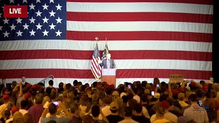full event donald trump holds rally in fayetteville nc 8 9 16