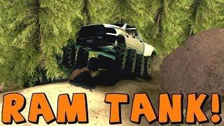 Spin Tires | Dodge Ram Tank! Download Link In Description