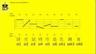 Beginner Chinese Cantonese: 9 tone Practice -  Lesson 1