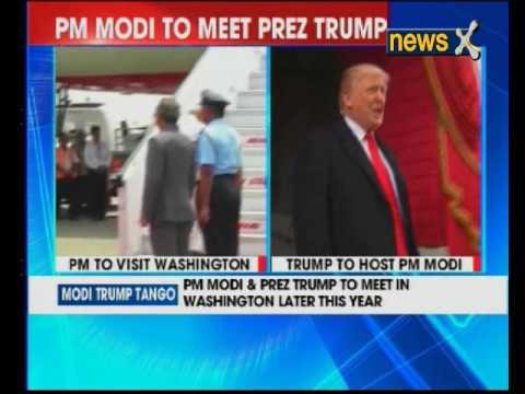 PM Narendra Modi and US President Donald Trump to meet in Washington