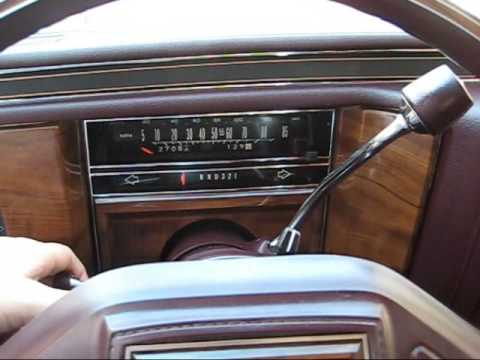 87 Cadillac Brougham - YouTube on