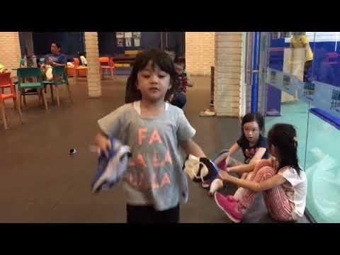 Miy Vlog #1 : Day 1 Winter Camp at Rock star Gym Lippo Mall Puri