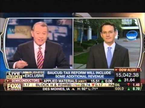 Rich Edson Breaks Down Max Baucus's Tax Reform Comments
