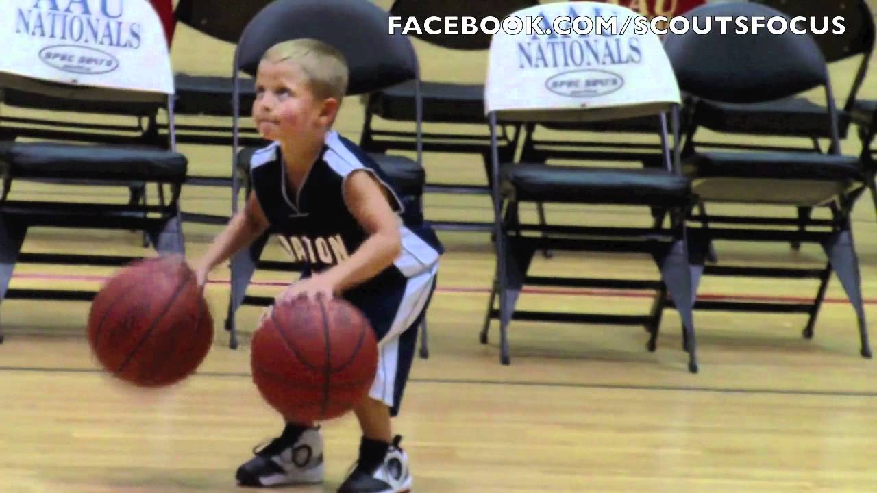 Playing A Kid For Shoes Basketball